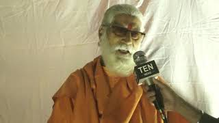 Sushil Goswami Maharaj interacts with Ten News says Ram mandir should be made  but with harmony