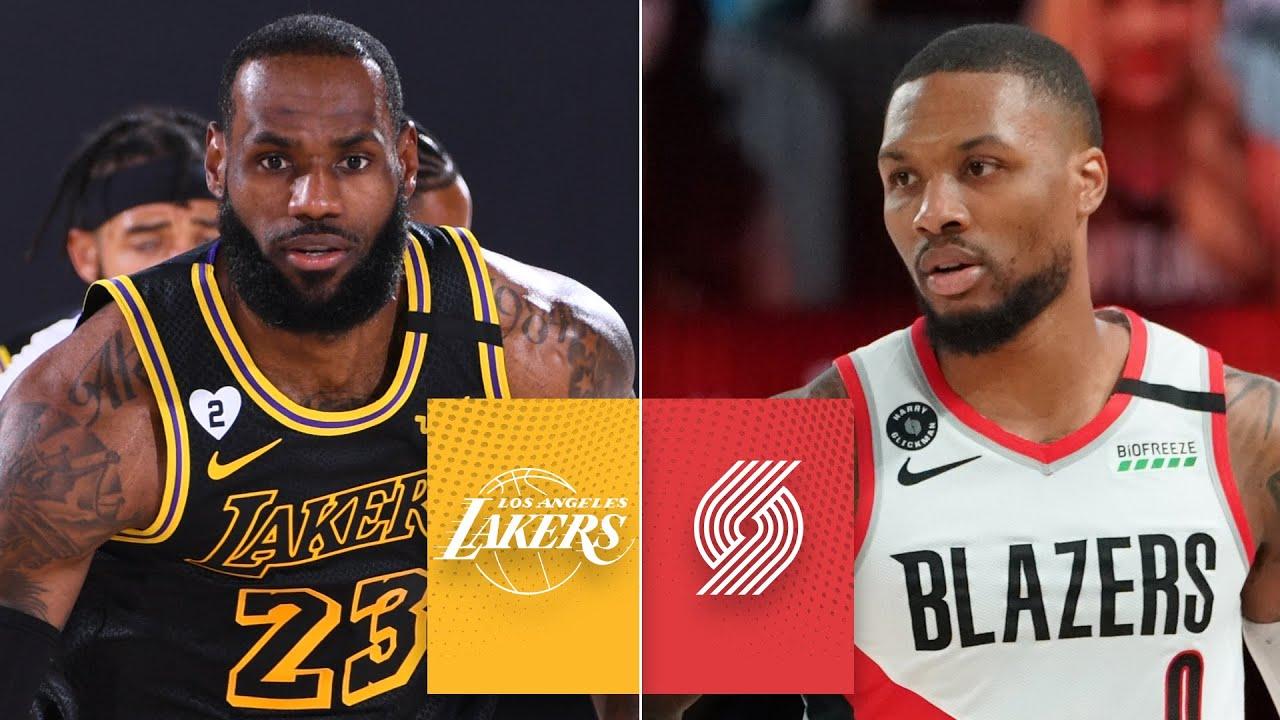 Los Angeles Lakers vs. Portland Trail Blazers [GAME 4 HIGHLIGHTS] | 2020 NBA Playoffs