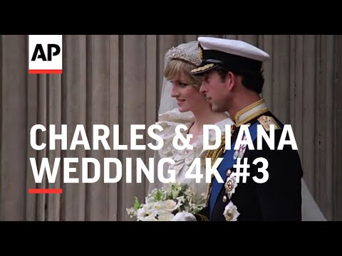 Charles & Diana Wedding in 4K | Part 3 | after the ceremony | 1981