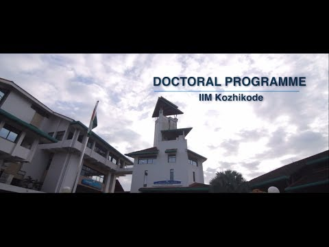 Fellow Programme in Management | IIM Kozhikode