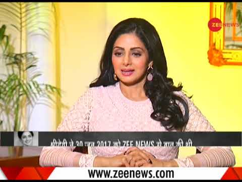 Watch Sridevi's last interview with Zee Media