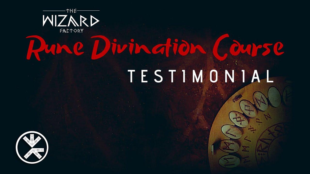 """Rune Divination Course"" Testimonial by Cameron Davis"