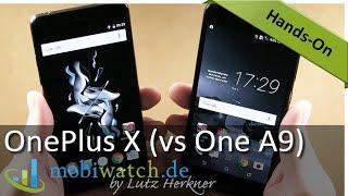 OnePlus X: Günstiger 5-Zoll-Flachmann – Hands-on-Video, Vergleich mit HTC One A9 (Test)