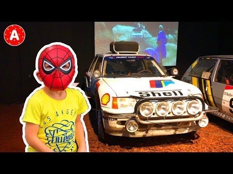 Superhero Spider-Man Visited Mulhouse Automobile National Museum Collection Schlumpf