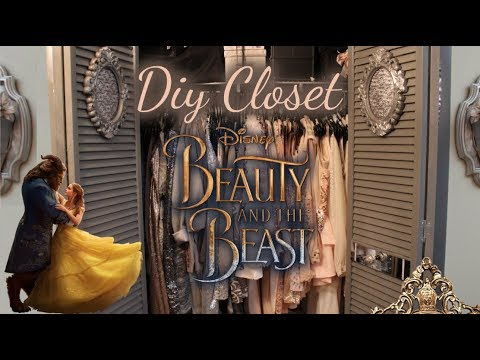 Diy Closet Transformation Beauty And The Beast Room Youtube