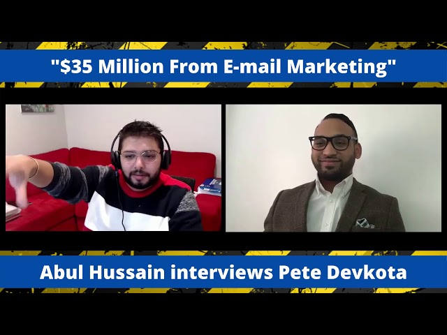 $35 Million From Email Marketing | SMMA Success Interview