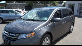 2014 Honda Odyssey EX-L Startup, Engine, Full-Tour&Review