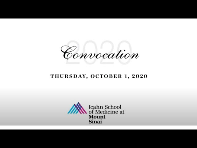 Convocation 2020: Full Ceremony