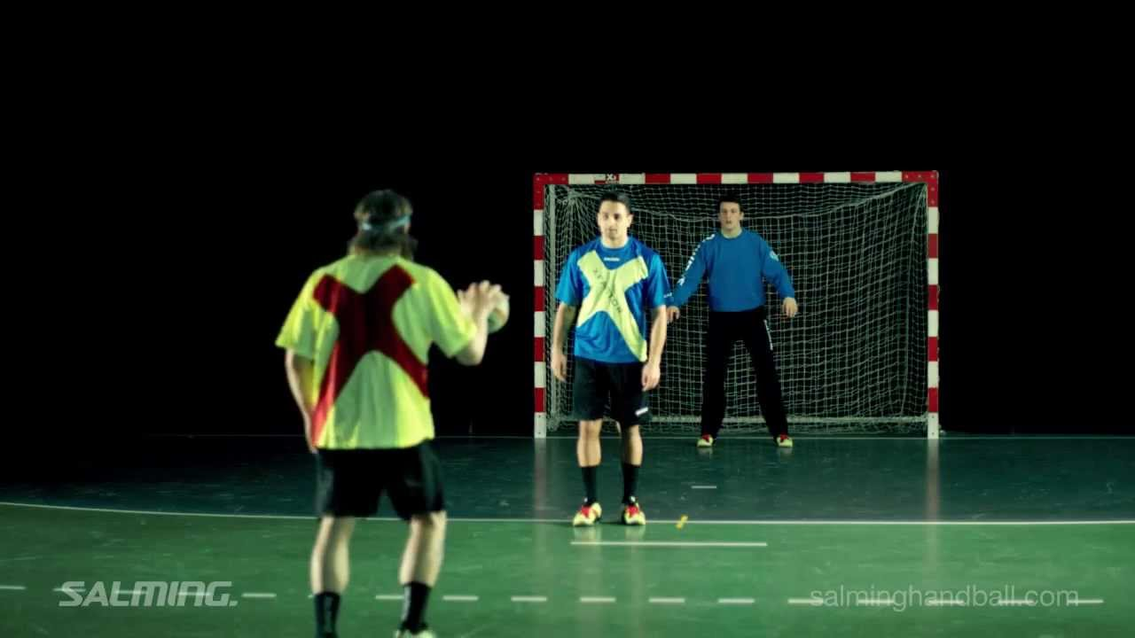 Salming Handball Feint   Shot Feint   YouTube