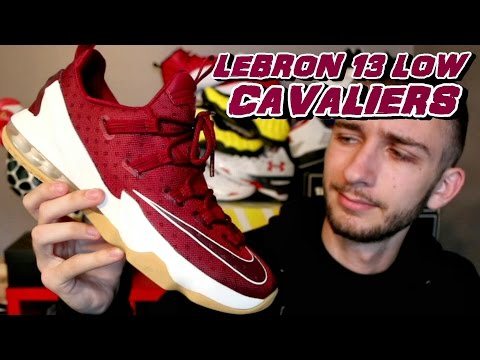 NIKE LEBRON 13 LOW CAVALIERS REVIEW + ON FOOT