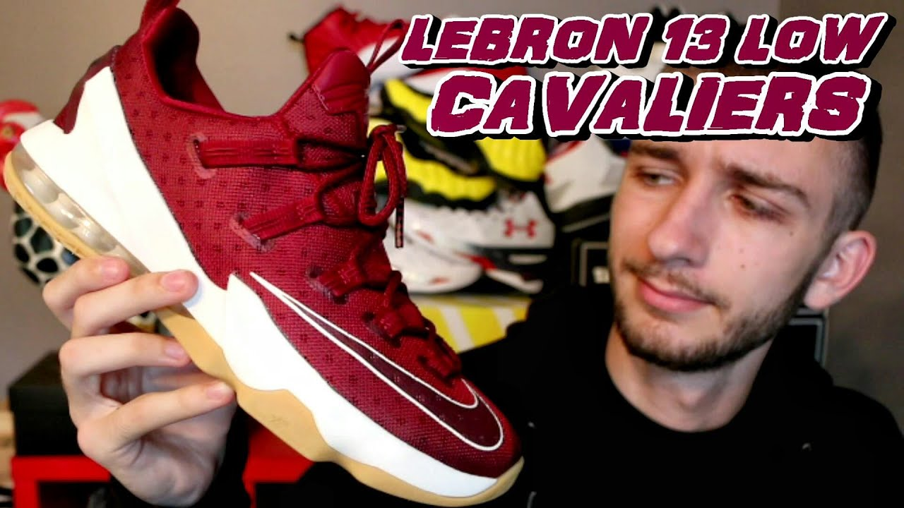 NIKE LEBRON 13 LOW CAVALIERS REVIEW + ON FOOT - YouTube