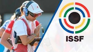 Interview with Yukie NAKAYAMA (JPN) - 2015 ISSF Rifle, Pistol, Shotgun World Cup in Gabala (AZE)