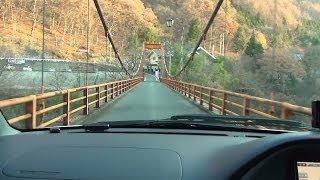 【HD 5.1ch】 群馬 吹割の滝・老神温泉ドライブ part.3