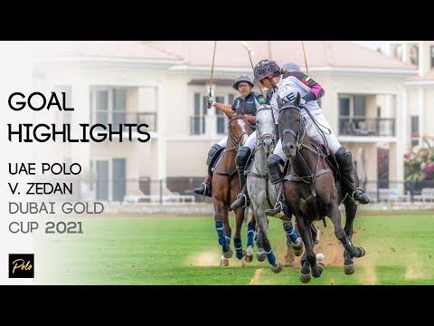 UAE Polo vs Saudi Arabia's Zedan Polo | Best Goals Gold Cup 2021 | Dubai Polo Season