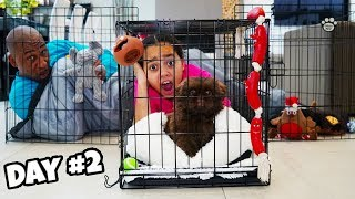 LAST TO LEAVE TIANA'S PUPPY PLAY PEN WINS $1000 Challenge!!