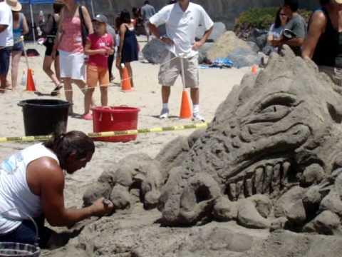 2010 us open sand castle competition video 2