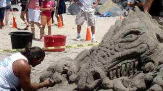 2010 US Open Sand Castle Competition Video 2