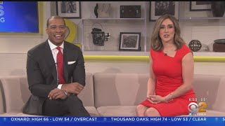 CBS2 News This Morning Welcomes DeMarco Morgan
