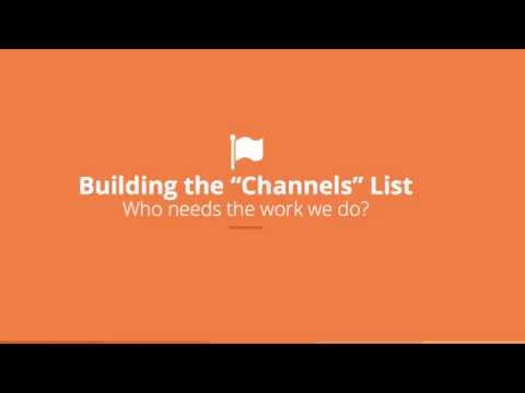 Find Commercial Photo Clients: Part Two; Channels