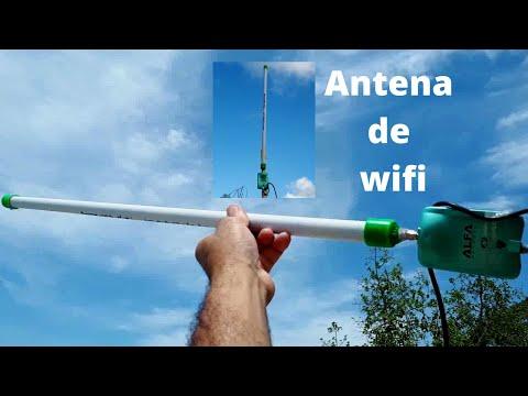 Como hacer una antena wifi casera de largo alcance omnidireccional 2.4 Ghz x 12 Dbi