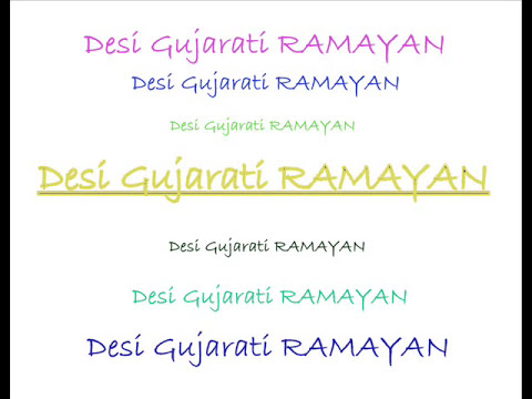 Desi Gujarati Ramayan by: Parth Patel.mp3