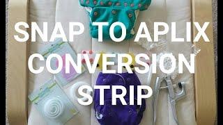 SNAP TO APLIX CONVERSION STRIP