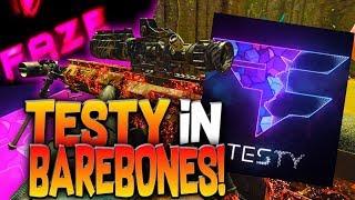 FaZe Testy In Barebones! Black Ops 4 Sniping Is The Best?