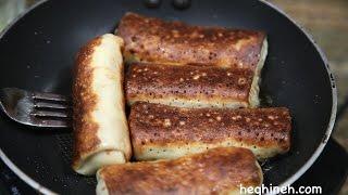 Մսով Նրբաբլիթ - Meat Crepes Recipe - Հեղինե - Heghineh Cooking Show in Armenian