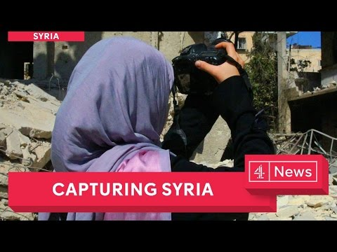 Syria: trapped inside a war-torn country