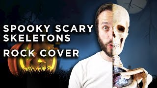 Spooky Scary Skeletons - METAL COVER VERSION (Jonathan Young & ToxicxEternity)