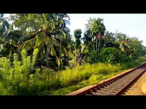 Colombo to Jaffna on the Yal Devi train service, Srilanka