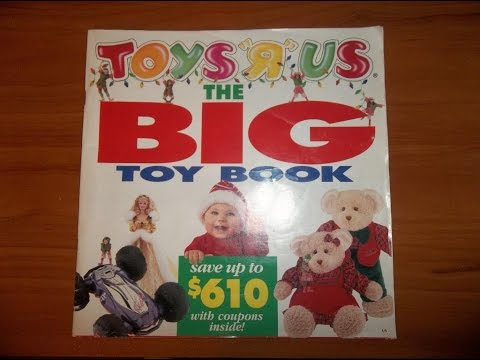 A Nostalgic Christmas: 1994 Toys R Us Catalog (Christmas Day)