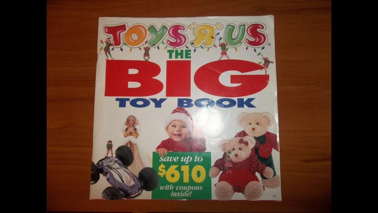 a nostalgic christmas 1994 toys r us catalog christmas day youtube. Black Bedroom Furniture Sets. Home Design Ideas