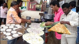 Dosa idly Samber | South Indian Food in Guntur Hare Street | Street Food Indian thumbnail