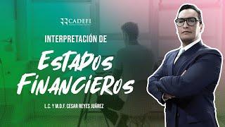 Cadefi - Interpretación De Estados Financieros - 12 Marzo