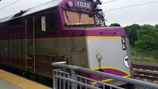 Taking A Brief Look At The MBTA F40PH #1025!