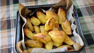 Картошка по-деревенски. Простейший рецепт.