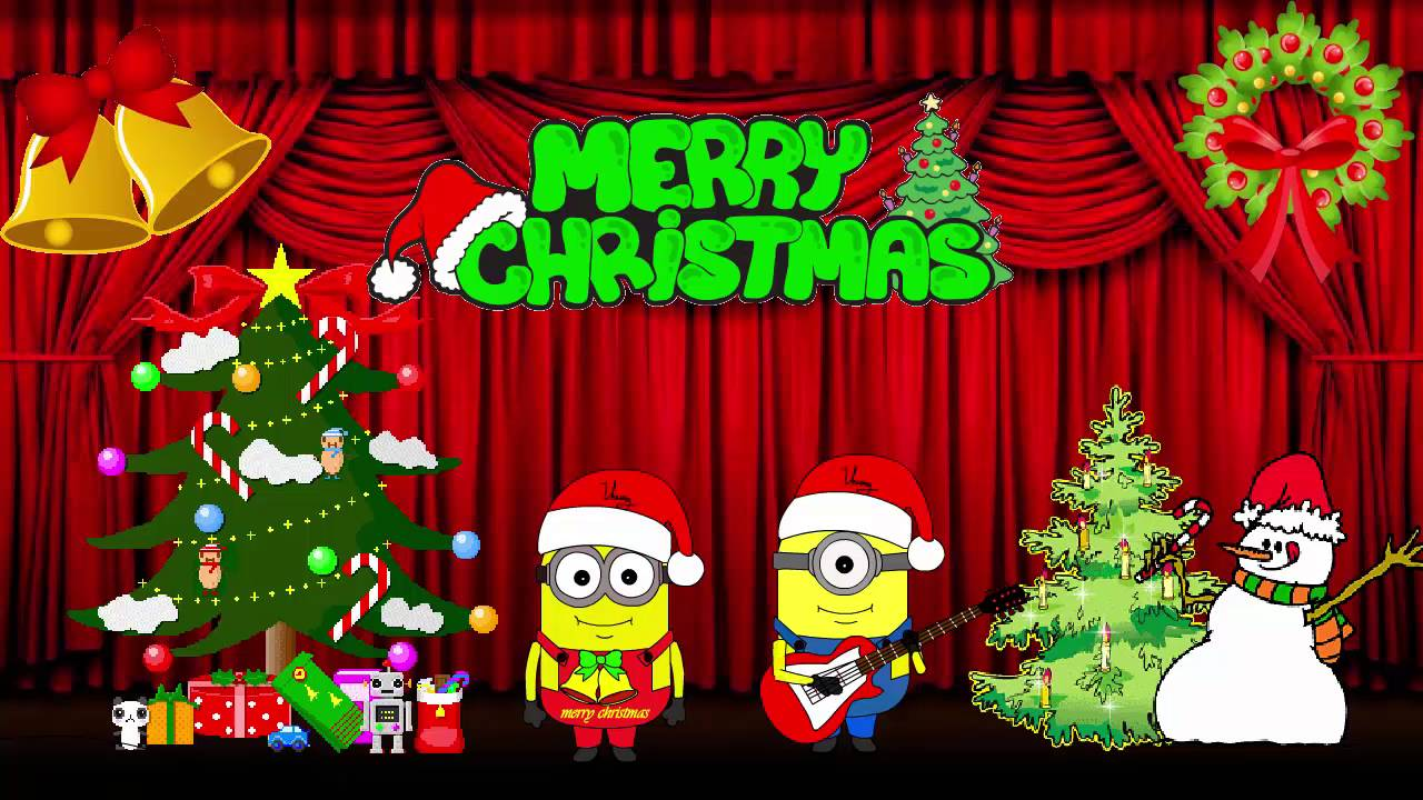 minions song we wish you a merry christmas by minions animations - Minion Merry Christmas