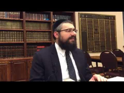 Rabbi Mendel Kaplan on The Traditions of Tu B'Shvat (2017 02 06)