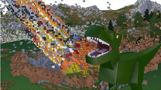 Minecraft : METEORO DE DINOSSAUROS ?! - ARK CRAFT SURVIVAL #01