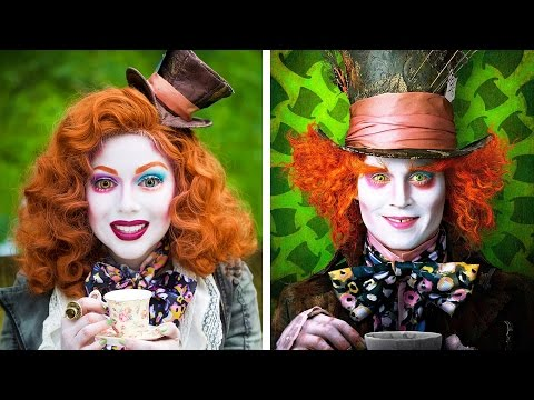 Mad Hatter Makeup! | Charisma Star