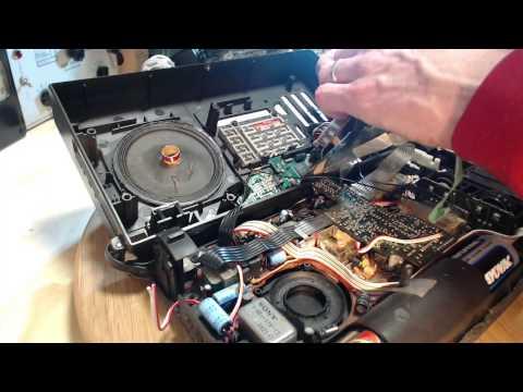 Sony ICF2001 Shortwave Radio Video #27 - Push-Button Extravaganza