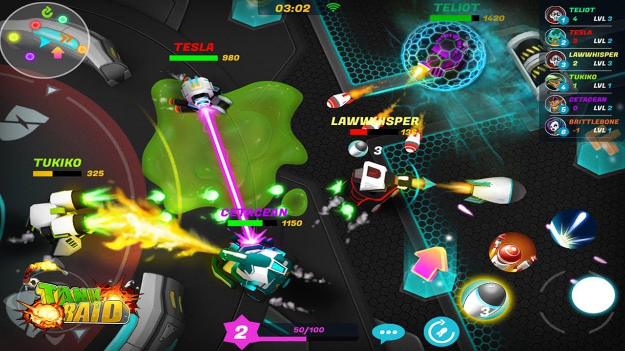 Tank Raid Online Multiplayer New Tank Io Game To Play