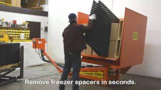 Psr 73 Freezer Spacer Removal Machine