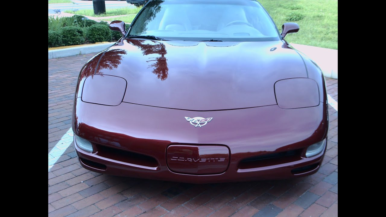 2003 corvette 50th anniversary special edition burgundy eustis052414 youtube. Black Bedroom Furniture Sets. Home Design Ideas
