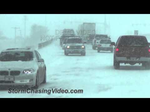 3/23/2013 Interstate 25 Gridlock Snowstorm Loveland, CO