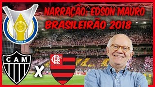 Atlético MG 0 x 1 Flamengo - Edson Mauro - Rádio Globo/CBN - Brasileirão 2018 - 26/05/2018