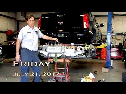 EVTV Friday Show - July 21, 2017.  Tescalade - Tesla Powered Cadillac
