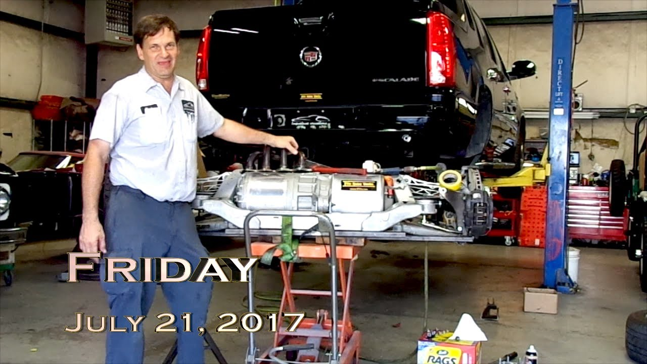 EVTV Friday Show - July 21, 2017  Tescalade - Tesla Powered Cadillac