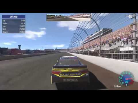 Nascar Heat Evolution - New Hampshire setup 29.6s!!! - HD Vroman